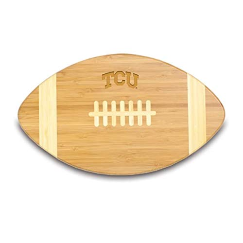 NCAA Texas Christian Horned Frogs Touchdown! Bamboo 16-Inch Cutting Board