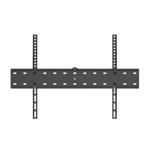 ultra delgado distancia a la pared 27mm Soporte fijo de pared para monitor//TV//LED de 37 a 70 TooQ LP4170F-B hasta 40kg de peso color negro incluye nivel de burbuja formato VESA hasta 600x400
