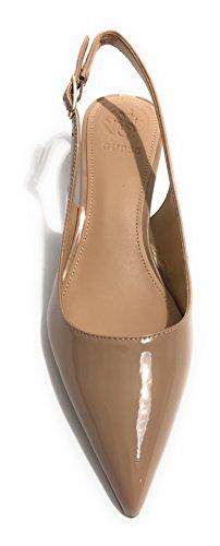 GUESS Zapatos de Vestir de Piel Sintética Para Mujer Beige Nude