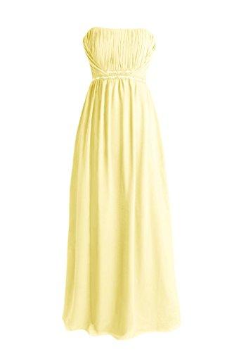 Chiffon Bridesmaids Dress Dress Formal DaisyFormals Dress 24 BM1035 Prom Banana xSPwg