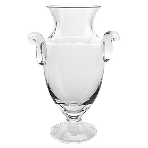 (Badash - Champion European Mouth Blown Trophy Vase 14 in)