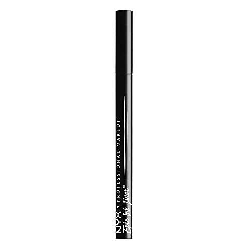 (NYX PROFESSIONAL MAKEUP Epic Ink Liner, Waterproof Liquid Eyeliner, Black)