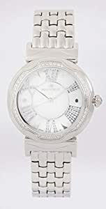 Brogeh Watch for Unisex, Silver Stainless Steel Band, 8897-3