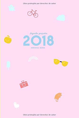 Amazon.com: Agenda pequeña 2018 semana vista: Una semana por ...