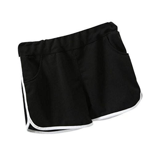 Women Sports Yoga Summer Black Bluestercool Pants Gym New Workout Shorts Shorts 1IwpZq