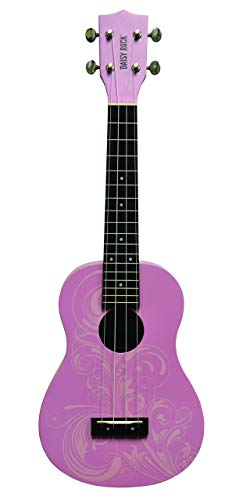 Daisy Rock Concert, 4-String Ukulele, Pink Blossom for sale  Delivered anywhere in USA