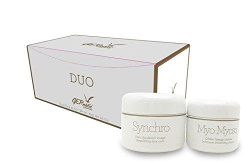 Gernetic Synchro Cream Regulating face care 50ml 1.6oz + GERne'tic MYO MYOSO Intensive smoothing cream 30ml 1.0oz