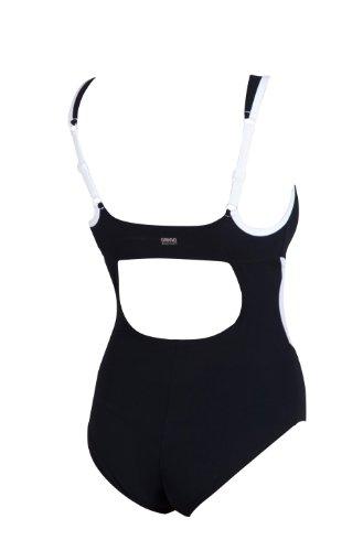 Nero Donna da Bagno Cup White Costume Black C da Arena Intero wqAZ86Xx