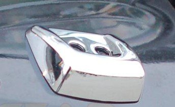 Range Rover Sport Accessories: ABS Chrome Head Light Washer Covers Pr., 2006, 2007, 2008, 2009 (Accessories Chrome Range Rover)