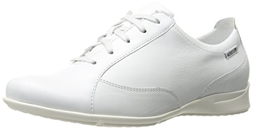 Mephisto Women's Valentina Oxford, White Silk, 8 M US