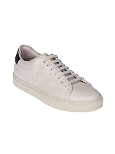 Paul Smith Herren SUXCR266LEA02 Weiss Leder Sneakers