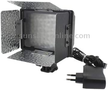 Tawny//White//Purple 70 LED Video Light with Three Color Temperature Transparent Films Durable