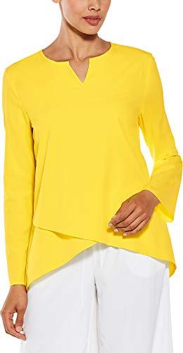 Coolibar UPF 50+ Women's Santa Barbara Tunic Top - Sun Protective (Small- Tuscan -