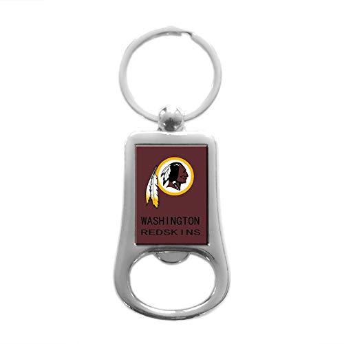 - CHNNFC Football Team Logo Stainless Steel Bottle Opener Keychain - Pick Washington Redskins