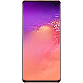 Samsung Galaxy S10+, 128GB, Flamingo Pink - Fully Unlocked (Renewed)