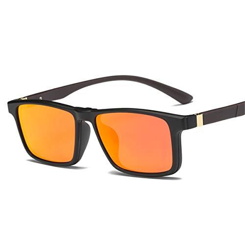 Marco D Gafas Conducción clásicas Gafas Gafas Recubrimiento polarizadas conducción Gafas Masculinas Negro de de KOMNY de Hombres Pesca Sol Sol E Oculos vO1Of