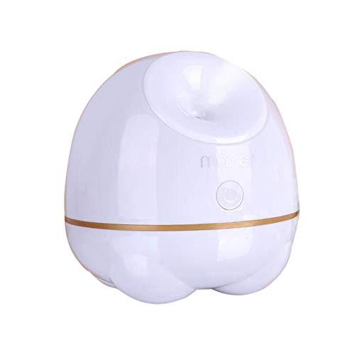 WMC Facial Steamer Nano Ionic Hot Steam, Stomer for Face Personal Sauna Moisturizing Face Sprayer for Pores Clean,White