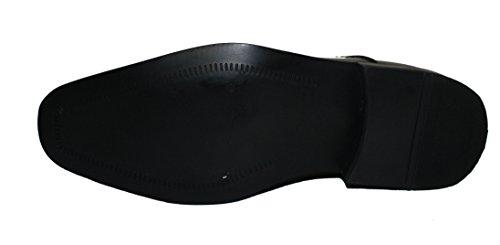 Faranzi F4692 Oxford Chaussures Pour Hommes En Cuir Verni Plaine Toe Tuxedo Oxford Mens Chaussures