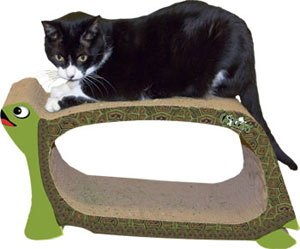 Imperial Cat Turtle Cat Scratch n Shape : Size ONE SIZE, My Pet Supplies