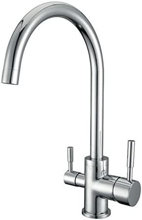 Waterlux Wl 302 Elegant Round 3 Way Kitchen Faucet For Reverse Osmosis System Chrome Lead Free Buy Online At Best Price In Uae Amazon Ae