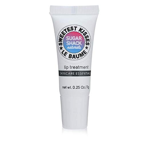 Sugar Shack Naturals Sweetest Kisses Le Baume: Lip Plumping Treatment Enhancing Glossy Balm Plumper for Fuller, Healthier Lips, Deep Penetrating Powerful Vitamin Blend Smoothes Fine Lines