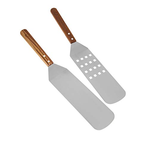 Curtis Stone Set of 2 Tiger Bamboo Grilling Spatulas Model 591-209