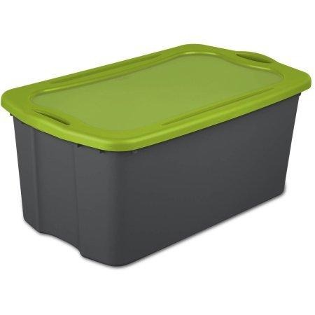 Sterilite 30 Gallon EZ Carry- Flat Gray, Case of 4