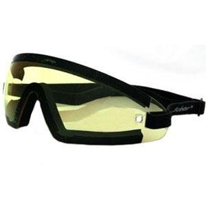 Bobster Wrap Around Goggles (BLACK/YELLOW LENS)