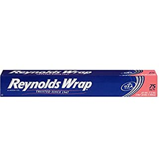 Reynolds Wrap Standard NLfajq Aluminum Foil - 75 Square Feet (Value Pack)