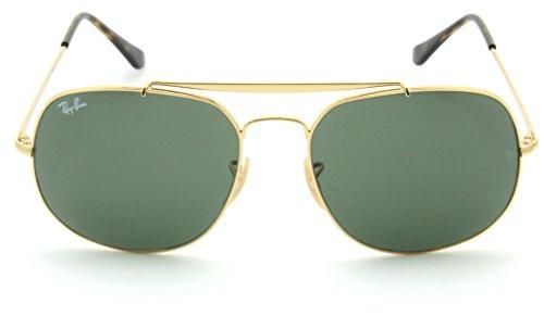 Ray-Ban RB3561 Genaral Unisex Sunglasses Crystal Green Lens 001-57mm (3561 Ray Ban)