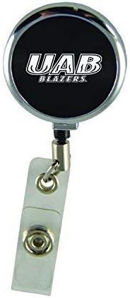Inc LXG University of Alabama at Birmingham-Retractable Badge Reel-Black