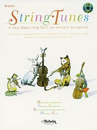Applebaum Samuel String Tunes: A Very Beginning Solo Unison Songbook for Violin CD Belwin/Mills from Belwin-Mills