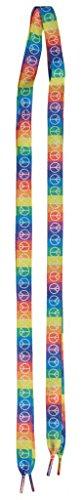 Flat Rainbow Pair piece Shoelaces
