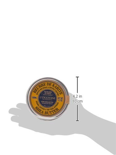 L'Occitane Eco-Cert Organic Certified & Fair Trade Approved Pure Shea Butter Enriched with Vitamin E, 5.2 oz. by L'Occitane (Image #4)