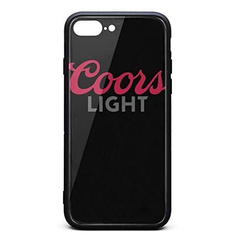 Hybrid Protective Durable Stylish Non-Slip Design Fashionable iPhone Cases Covers for 7plus,8plus Back Cover Anti-Scratch Scratch Resistant Thin Ultra Slim (Case Coors Light)