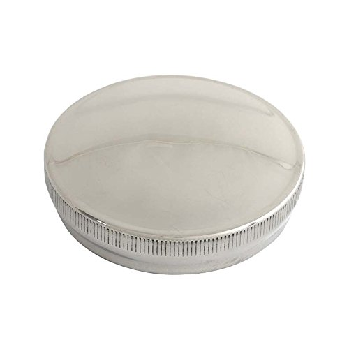 MACs Auto Parts 28-24733 Model A Gas Cap - Stainless Steel - Twist Type - Vented Style - Quality Reproduction
