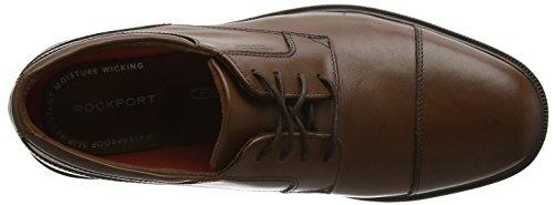 Rockport Herren Essential Details II Captoe Derby Braun (TAN ANTIQUE LEA)