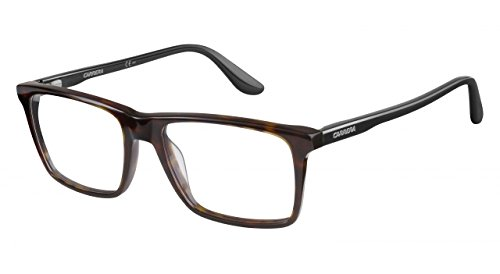 Carrera 6637-N Progressive No Line Bifocal Designer Reading Glasses, Dark Havana, - Glasses Reading Carrera