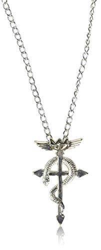 Price comparison product image OliaDesign Anime Full Metal Alchemist Logo Symbol Necklace