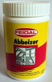 Feidal Abbeizer v. Fachhandel, Hochwirksamer Spezialabbeizer entfernt mühelos und schnell Lacke, Kleber, Dispersionen 1 kg