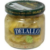 Delallo Quartered and Marinated Artichoke Hearts, 6 Ounce