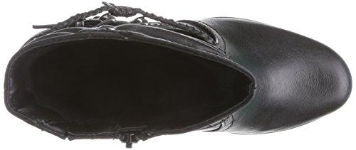 Softline 25365 - botas de material sintético mujer negro - Schwarz (schwarz (BLACK 001 ))