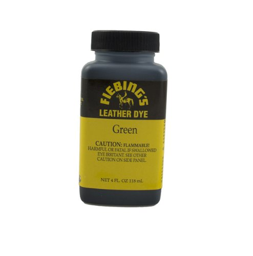 Fiebing's Green Leather Dye 4oz
