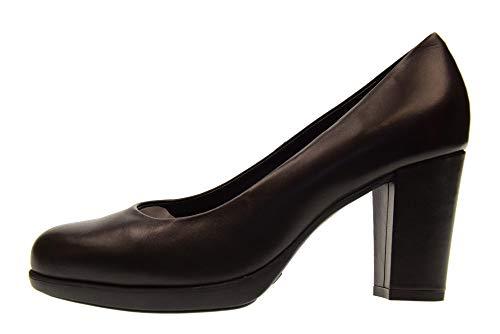 D6504 Black 02 Rosanna Heel With New Decollet Shoes Flexx Woman The 6UwqY4vv