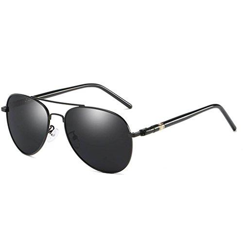 Hombres gafas Coolsir conducción deslumbramiento UV400 sol polarizado de 1 barrera Eyewear de anteojos protección anteojos completa dq1HE