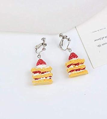 Summer Decor,Gift for Her gift idea Ethnic Earrings BEST SELLER miniature food,Honey cake,Spring Earrings,Gifts for Kids,Girls Earrings