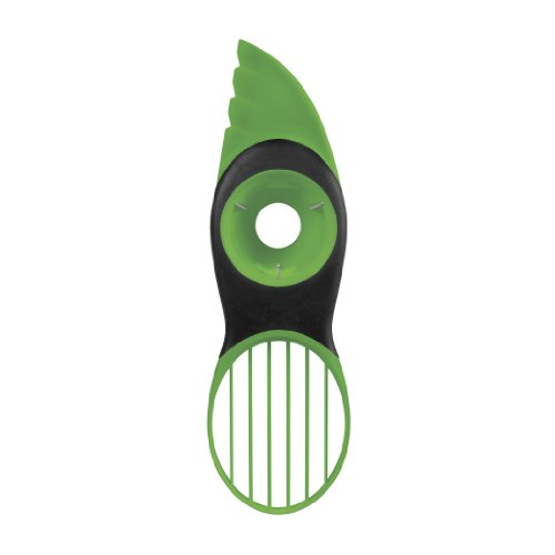 OXO Good Grips 3-in-1 Avocado Slicer, (Soft Skin Peeler)