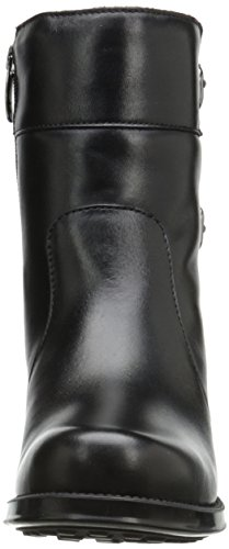 Andre Assous Womens Laura Engineer Boot Black