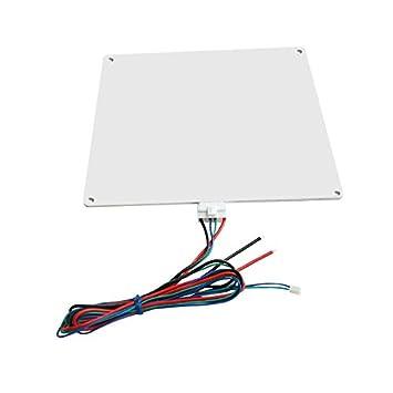 PerGrate MK3 Lit chauffant/// plateau chauffant 12 V en aluminium avec fils pour imprimante 3D /à lit chauffant