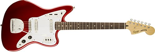 (Squier by Fender Vintage Modified Jaguar Beginner Electric Guitar - Olympic White)